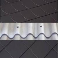 Faserzementdachsteine und -platten