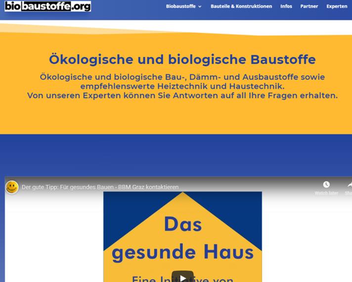 Relaunch von Biobaustoffe